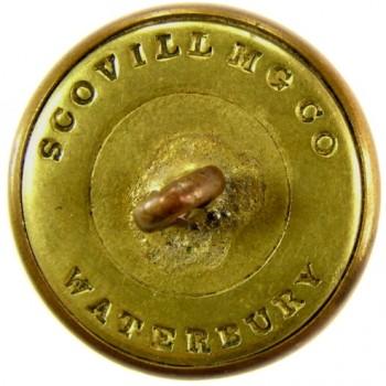 1850 Missouri State Seal 22.3mm Gild Brass RJ Silversteins georgewashingtonbuttons.com R