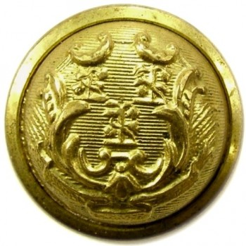 1850's Conn. Militia infantry 23mm Brass CT200As.1 georgewashingtoninauguralbuttons.com O