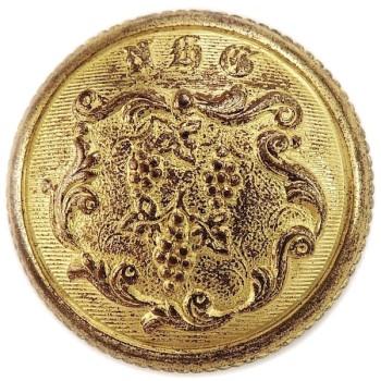 1850's Connecticut New Haven Grays 23mm Gilt Brass LA 265 A.1 CT 27 RJ Silversteins georgewashingtoninauguralbuttons.com O