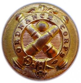 1850's Federal Ordnance Dept 23mm Gilded BrassGeorgewashingtoninauguralbuttons.com O