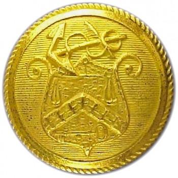 1859 Revenue Cutter FD-8-A  23mm Gilt Brass rjsilversteins georgewashingtoninauguralbuttons.com O