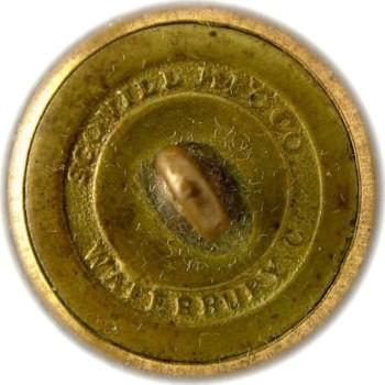 1860-61 Alabama Vo. Corps 22.6mm Gilt Brass AB212A.3 AB2B RJ silversteins georgewashingtoninauguralbuttons.com R