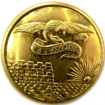 1860-65 Engineers 23mm RG 215A.2 Gold Plate georgewashingtoninauguralbuttons.com O