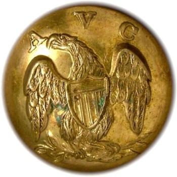 1860 Alabama Vol. Corps 20.06mm Gilt Brass AB3B AB216A.1 RJ silversteins georgewashingtoninauguralbuttons.com O