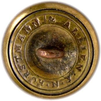 1860 Alabama Vol. Corps 20.06mm Gilt Brass AB3B AB216A.1 RJ silversteins georgewashingtoninauguralbuttons.com R