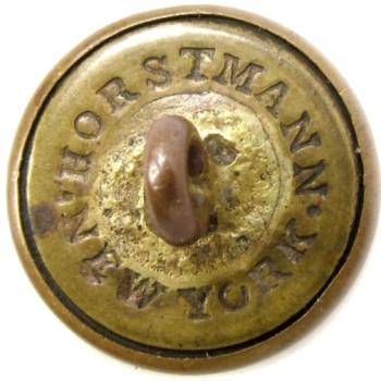 1860 Arkansas 14.5mm Gilt Brass 3-Piece AK200As.1 AKAv1 RJ Silversteins georgewashingtoninauguralbuttons.com R