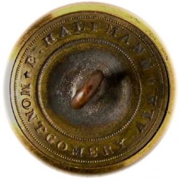 1860 Florida Infantry 21mm Gilded Brass rj silverstein's georgewashingtoninauguralbuttons.com R