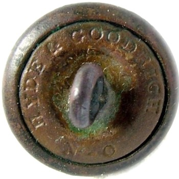 1860 Louisiana 13.8mm Gilt Brass LA 204As.2 LA 3A Dug Centerville VA RJ Silversteins georgewashingtoninauguralbuttons.com R