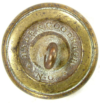 1860 Louisiana 20.5mm Gilt Brass LA 4 Tice LA 210A.1 RJ Silversteins georgewashingtoninauguralbuttons.com R
