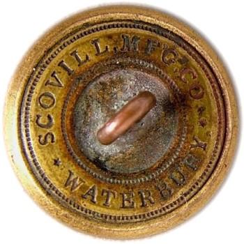 1860 Louisiana 21.8mm Gilt Brass LA 203A.1 - LA 2 A.1 RJ Silversteins georgewashingtoninauguralbuttons.com R