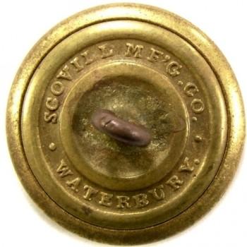 1860 NEW HAMPSHIRE 23mm Gilt Brass 2-Part NH 200 rj silverstein georgewashingtoninauguralbuttons.com r