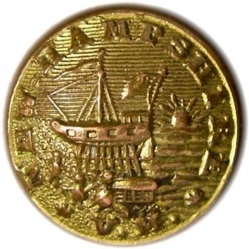 1860 NEW HAMPSHIRE 23mm Gilt Brass 2-Part NH 200As.3 rj silverstein georgewashingtoninauguralbuttons.com O
