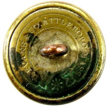1860 NEW HAMPSHIRE 23mm Gilt Brass 2-Part NH 200C.1 rj silverstein georgewashingtoninauguralbuttons.com r