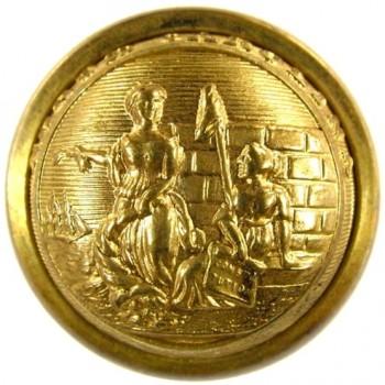 1860 North Carolina 22.5 gilt brass NC 2 georgewashingtoninauguralbuttons.com O