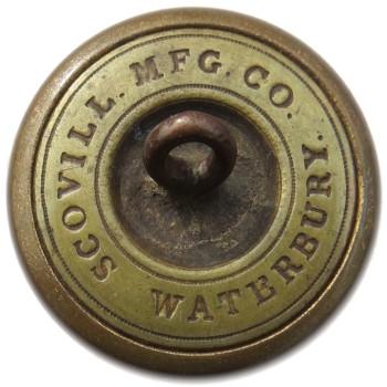 1860 Rhode Island State Militia 23.35mm Gilt Brass TICE's RI203A.2 RI 8 RJ Silversteins georgewashingtoninauguralbuttons.com R1