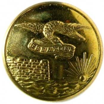 1860's Federal Engineers 22.5mm Gilt Brass Albert EG6 Tice EG215E.1 RJ Silversteins georgewashingtoninauguralbuttons.com O