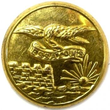 1860's Federal Engineers 23.1mm Gilt Brass Albert EG6 Tice EG215Es.1 RJ Silversteins georgewashingtoninauguralbuttons.com O