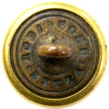 1860's Federal Engineers 23.1mm Gilt Brass Albert EG6 Tice EG215Es.1 RJ Silversteins georgewashingtoninauguralbuttons.com R