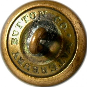 1860's Federal Engineers 23.1mm Gilt Brass Albert EG6 Tice EG215G.UNLISTED RJ Silversteins georgewashingtoninauguralbuttons.com R