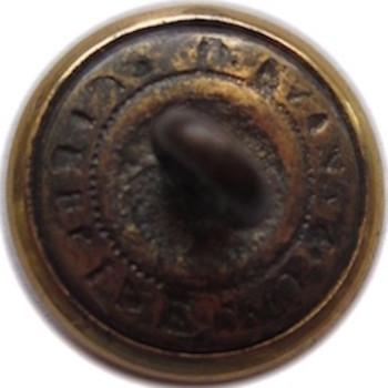 1862 Massachusetts Ancient & Honourable Artillery 1638 15.18mm Gilt Brass Cerimonial Purposes TICE's 224AS.1 - MS 48 georgewashingtoninauguralbuttons R
