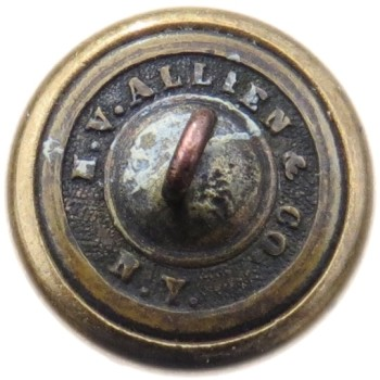 1865 Post 20.14mm Gilt brass Tice NY 208 A.5 Ablbert NY 18 RJ Silversteins georgewashingtoninauguralbuttons.com R
