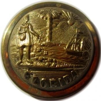 1868 Florida 23mm. Brass Albert FL 4 georgewashingtoninauguralbuttons.com O