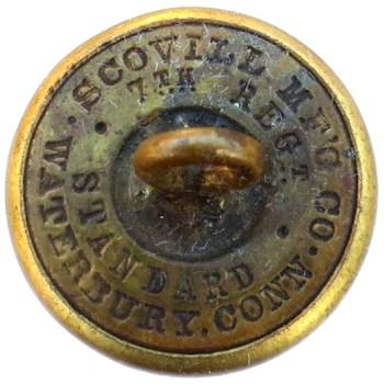 1870's NEW YORK NATIONAL GUARD ARTILLERY 20.76MM NY 20 TICE'S NY210 B.2 georgewashingtoninauguralbuttons.com R
