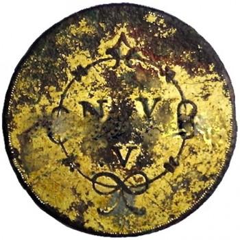 British Loyalist for the New York Volunteers. Officers Button georgewashingtoninauguralbuttons.com