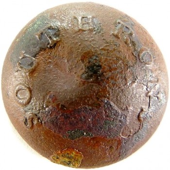 Mississippi Southrons Vol. Regt, 21mm Dug Murfreesboro Tenn Ropy Bllick Orig Shank