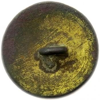NORTH CAROLINA MILITIA 1860 22MM GILDED BRASS ORIG SHANK ALBERT'S NC 14-A : TICE'S NC 233-A.1 RV 50 PD $650.00 4-21-13 R