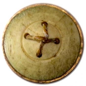 Royal Artillery 24mm gilt copper repousse Bone Back 10-19-12 $1200. r