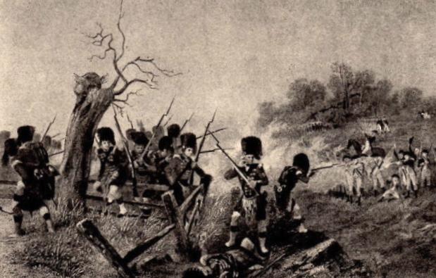 Skirmish at Lexington 1775 pic
