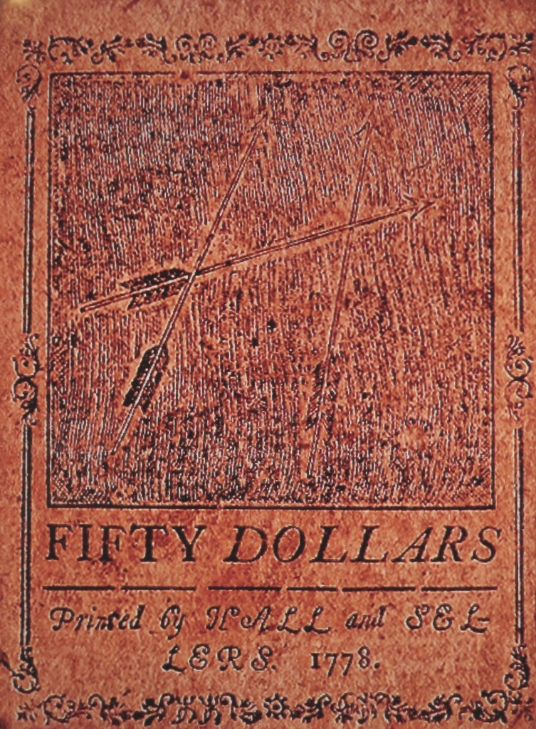 1778 Fifty Dollars Philadelphia Hall & Sellers Colonial Currency O.jpg 2