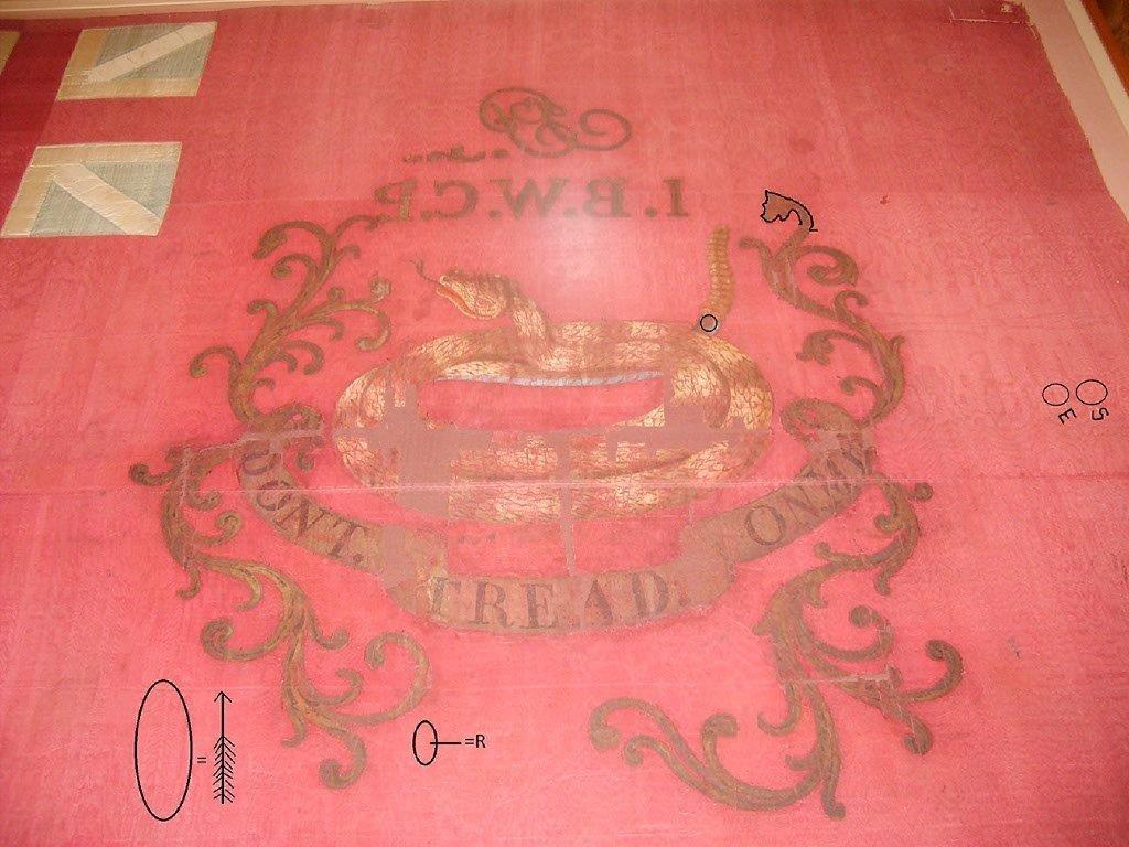1st B P flag