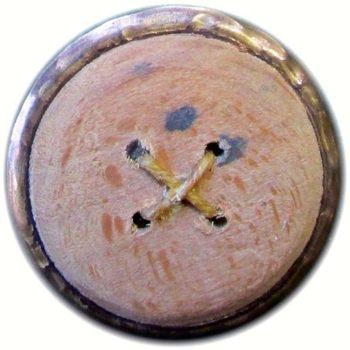 1775 General Button 29mm Gilt Brass Round Disk Border R